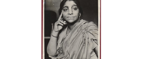 Sarojini Naidu, Kings College London; Class of 1898