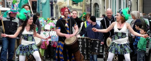 St Patrick's Day Parade, Omagh, Ireland