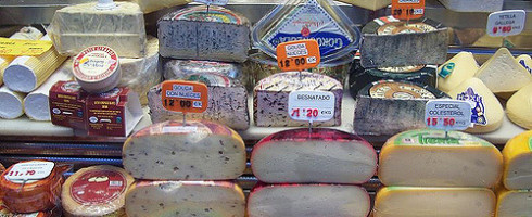 Photo of cheeses by Rodney. Used under CC BY 2.0 license