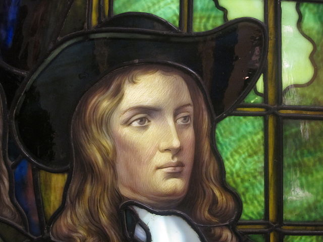 William Penn portrait by Frederick Lamb