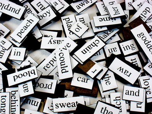 Magnetic poetry (image by Steve Johnson, used under CC BY 2.0 licence)