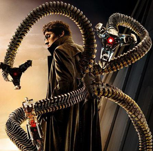 Above: Alfred Molina as Dr. Octopus in the 2004 film Spider-Man 2