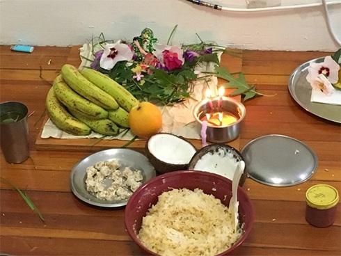 Vinayaka-Chaviti-celebrations-in-our-apartment