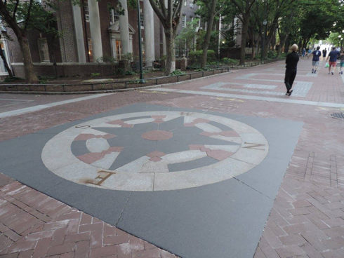 The Compass on Locust Walk, on the University of Pennsylvania campus